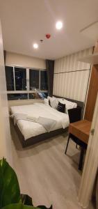 เช่าคอนโดท่าพระ ตลาดพลู : ให้เช่าคอนโดใหม่ เอลิโอสาทร วุฒากาศ ห้องใหม่ พร้อมเข้าอยู่ RT-01 (Elio Sathorn Wutthakat ฺBrand new condo for rent. RT-01)