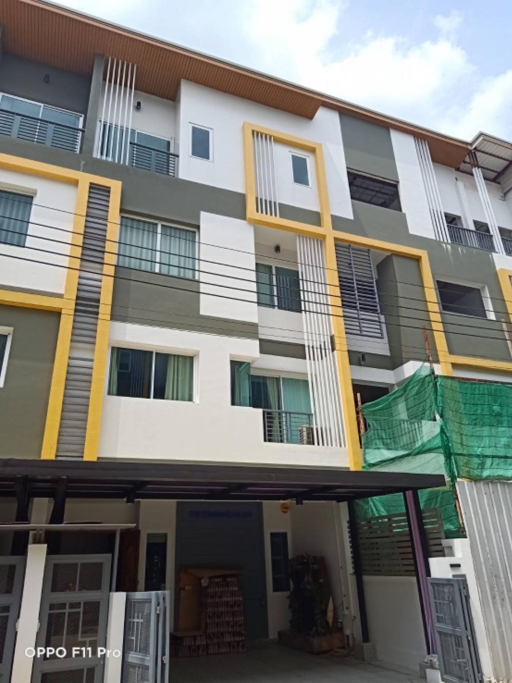 For SaleTownhouseRama 2, Bang Khun Thian : Beautiful home office for sale, 3.5 floors, Rama 2, Astra Bless
