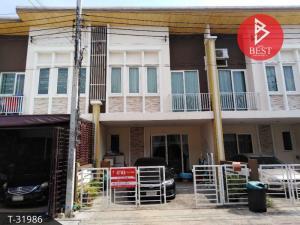 For SaleTownhouseSamrong, Samut Prakan : 2 storey townhouse for sale, Golden Town Bangna Village, King Kaew, Samut Prakan