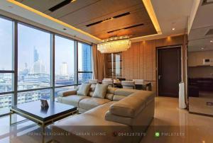 For RentCondoSathorn, Narathiwat : The Bangkok Sathorn - Beautifully Furnished 2 Bedrooms / 116 Sqm / BTS Surasak