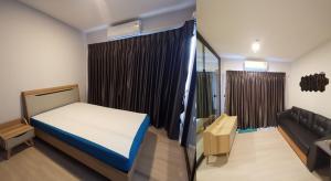 For RentCondoBang kae, Phetkasem : SR1-FF52 Condo for rent, The Key MRT Phetkasem48, new room, ready to move in.
