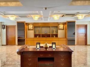 For RentCondoSukhumvit, Asoke, Thonglor : Urgent Rent ++ Good Decor ++ High Floor ++ President Park ++ Available @55000 Negotiable 🔥🔥