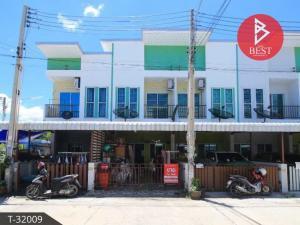 For SaleTownhousePattaya, Bangsaen, Chonburi : Townhouse for sale The Village Plus Amata Don Hua Lo Village, Chonburi
