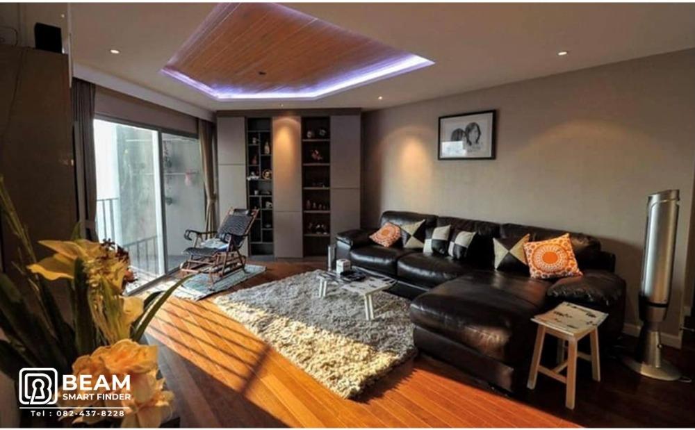 For SaleCondoRama9, RCA, Petchaburi : BL038_W🎇 ** BELLE GRAND RAMA9 ** 2 bed, 1 bath, high floor, confused !! 💒