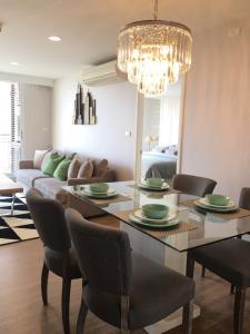 For RentCondoAri,Anusaowaree : Condo for rent Centric Scene Ari 2 Type 2 bedroom 2 bathroom Size 89 sq.m. Floor 6