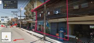 For SaleShophouseKorat KhaoYai Pak Chong : 3 rooms commercial building for sale at Phimai, Korat