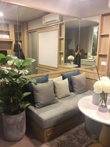 Sale DownCondoRama9, RCA, Petchaburi : A Space ID condo, good location, fully furnished with electrical appliances