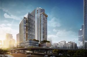 ขายคอนโดพระราม 9 เพชรบุรีตัดใหม่ : 🔥 HOT DEAL🔥 Super Luxury โครงการ THE ESSE at SINGHA COMPLEX จาก สิงห์ เอสเตท  2 ห้องนอน ราคา 20 ล้าน