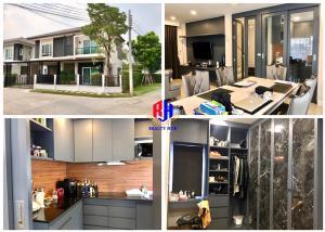 For SaleHouseChengwatana, Muangthong : House for sale, corner, CENTRO, CENTRO, Chaiyapruek, Chaengwattana, 80 sq m, near the Government Center, Central Chaengwattana, ISB, new house, beautiful build