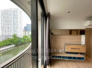 For SaleCondoOnnut, Udomsuk : 🔥 Urgent sale! 🔥 Kawa Haus, a luxury waterfront condo, resort style. In the heart of Sukhumvit, 2 bedrooms, 51.97 sqm, canal view, fully furnished, ready to move in 🔥 Only 8.49 million! 🔥