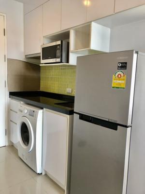 For RentCondoThaphra, Wutthakat : ให้เช่า 1 ห้องนอน ชั้น 18 มีเครื่องซักผ้า เฟอร์ครบ ราคาพิเศษ - Rent 1 Bedroom Fully furnished