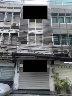 For RentShophouseSukhumvit, Asoke, Thonglor : Commercial buildings for rent Sukhumvit - Thonglor Empty building, inside beautiful condition Immediate renovation, close to bts, just walking distance