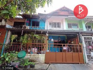 For SaleTownhouseNakhon Pathom, Phutthamonthon, Salaya : 2 storey Townhouse for sale, Pruksa 4, Nakhon Chai Si, Nakhon Pathom.