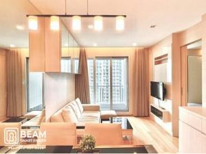 For RentCondoRama9, RCA, Petchaburi : TA002_M ** The Address Asoke 😍 Super beautiful room, fully furnished, close to both Airport Link and MRT.