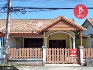 For SaleHouseRayong : House for sale Vanda Garden, Nikhom Phatthana, Rayong