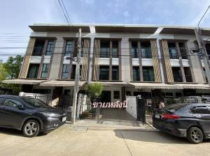 For SaleTownhouseThaphra, Wutthakat : House for sale in the middle of Kalapapruek, Thonburi Court, Bang Khae