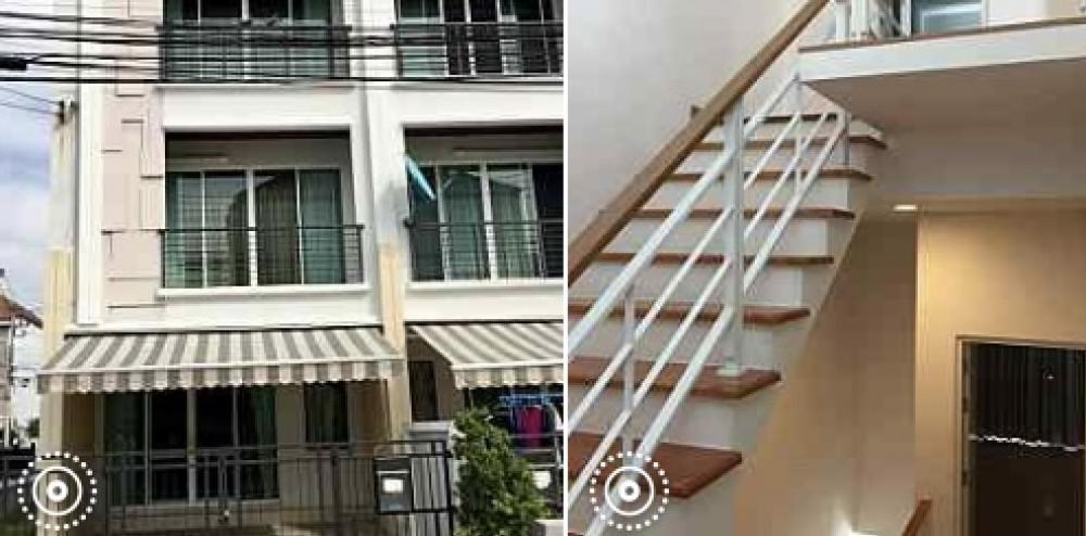 For RentTownhousePattanakan, Srinakarin : House for rent in Klang Muang SSense Srinakarin 46/1.
