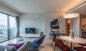 For RentCondoSukhumvit, Asoke, Thonglor : Condo for rent TELA Thonglor  Type 2 bedroom 2 bathroom Size 111 sq.m. Floor 15
