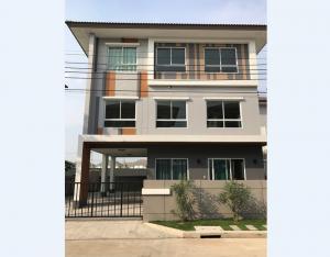 For RentHouseRama 2, Bang Khun Thian : 3-storey detached house, Casa Premium Rama 2 project, near Roy's Royal International School, area 54 sq.wa, 3 bedrooms, 5 bathrooms.