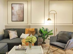 For SaleCondoLadprao 48, Chokchai 4, Ladprao 71 : Big room, beautiful decoration, ready to move in, 1 bed 40 sq.m., Ladprao 48