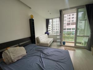 เช่าคอนโดพระราม 9 เพชรบุรีตัดใหม่ : TC Green condominium สตูดิโอ