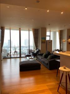 For RentCondoSathorn, Narathiwat : Condo for rent The Sukhothai Residences  Type 1 bedroom 2 bathroom Size 122 sq.m. Floor 20