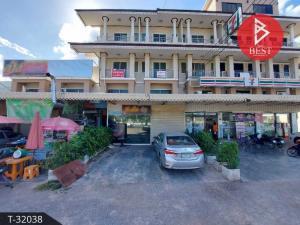 For SaleShophouseSamut Songkhram : Sale of commercial buildings, 2 booths, 3.5 floors, Lat Yai, Samut Songkhram, beautiful location, suitable for trading