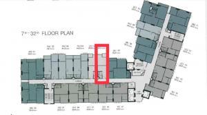 Sale DownCondoThaphra, Wutthakat : Sale down payment Supalai loft Sathorn-Ratchaphruek 1 bedroom North, not hot, high floor, good price