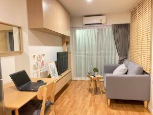 For RentCondoPattanakan, Srinakarin : 🎯 Beautiful room, MUJI style, good view, fully furnished !! Lumpini ville Pattanakarn Srinakarin !!