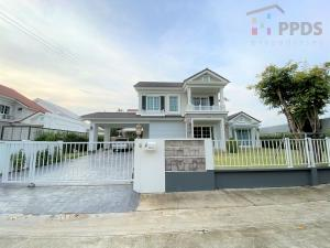 For SaleHouseEakachai, Bang Bon : For Sale English Style Single house at Golden Prestige Ekkamai-Wongweang Bangbon