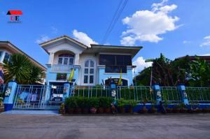 For SaleHouseBangbuathong, Sainoi : House for sale, Passorn 8, Bangyai, corner plot, area 63 sq.wa.