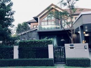 ขายบ้านรังสิต ธรรมศาสตร์ ปทุม : แปลงมุมที่สวยสุดในโครงการ  ขายบ้านเดี่ยว หลังใหญ่ ( H1181) โครงการ บางกอก บูเลอวาร์ด รังสิต คลอง 4