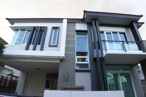 For SaleHouseRama5, Ratchapruek, Bangkruai : ⭐️🚩 Single house for sale, corner, new house, never been in‼ ️ Casa Regend Village Ratchapruek - Pinklao (H1182)
