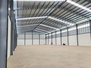For RentFactorySamrong, Samut Prakan : For Rent new warehouse / factory for rent, land area 4 rai, factory area 2592 square meters, Soi Boonmeesap Bang Phli Road - Tamru Big car in and out easily.