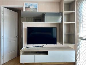 For RentCondoOnnut, Udomsuk : Condo for rent, The Light New York, near BTS Punnawithi, Sukhumvit 64, 2 bedrooms, 1 bathroom, 42 sqm., 7th floor, corner room, cool breeze all year