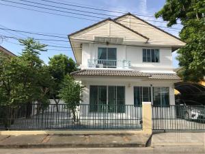 For RentHouseRangsit, Patumtani : Urgent rental !! Two-story detached houses, cheaper than townhouses !! 🚩 Prueklada Village 1 Lam Luk Ka Khlong 4 4 bedrooms 2 bathrooms