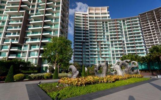 For SaleCondoPattaya, Bangsaen, Chonburi : Condo for sale Casalunar Paradiso, Bangsaen, Chonburi, 16th floor, Building B, beautiful view, Sea view 107.30 sq.m.