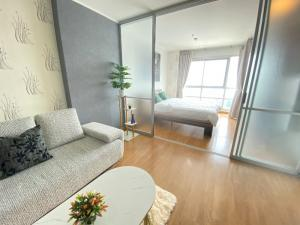 For RentCondoRatchadapisek, Huaikwang, Suttisan : Quick rent !!! With furniture + complete electrical appliances Carry your bag and move in. U Delight at Huai Khwang Station near MRT Huai Khwang Station.