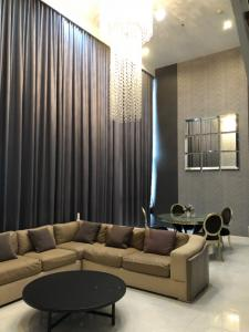 For SaleCondoLadprao, Central Ladprao : The ISSARA Ladprao Duplex 3 bedrooms, fully furnished, offer price with consideration.