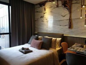 For RentCondoSiam Paragon ,Chulalongkorn,Samyan : Condo for rent, Rare Ashton room, Chula-Silom, 27 sqm. Beautiful decoration like a sample room, fully furnished