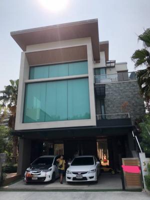 For SaleHouseBang kae, Phetkasem : 🎊🎉House for sale, the Master Bang Khae 3-storey detached house