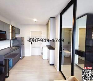 For RentCondoBang kae, Phetkasem : Condo for rent, THE KEY MRT Phetkasem 48, brand new room. Ready to move in immediately