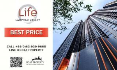 For SaleCondoLadprao, Central Ladprao : 🏕 Life ladprao valley 🏕