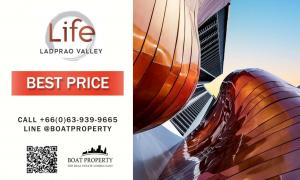 For SaleCondoLadprao, Central Ladprao : Life ladprao valley🌋cheaper than project room🌋