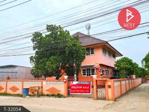 For SaleHouseSamrong, Samut Prakan : House for sale, 1 ngan, 44.0 square wah, Soi Wat Palad Priang, Bang Kaeo, Samut Prakan.
