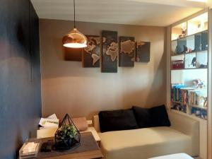 For SaleCondoRama3 (Riverside),Satupadit : Condo for sale, U Delight Residence Riverfront Rama 3, 26th floor, beautiful room, furniture and electrical appliances, ready to move in, river view (not a temple view).