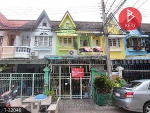 For SaleTownhouseSamrong, Samut Prakan : Townhouse for sale, 2 floors, 22 square meters, Sukhumvit 19, Samut Prakan.