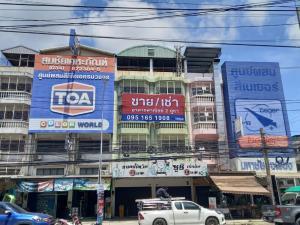 For RentShophouseMahachai Samut Sakhon : Sale/Rent : Commercial Building, Samut Sakhon, Phanthai Norasing (4 and a half floors)