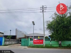 For SaleFactorySamrong, Samut Prakan : Quick sale, factory area 1 rai, Khlong Asia, Bang Phli Yai, Samut Prakan.