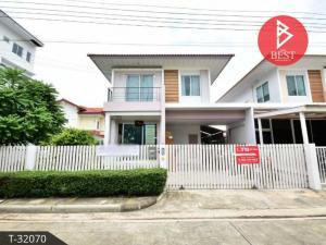 For SaleHouseSamrong, Samut Prakan : Twin house for sale, Groove Ville Bangna Village, Samut Prakan.